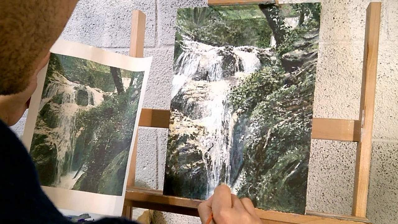 Video Pittura Impressionista Ita Cascate In Stile Impressionista Pt 3 3 Video