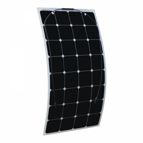 100w Flexible Solar Panel Made Of Back Contact Cells For Motorhome Caravan Camper Rv Boat Rv Solar Power Solar Rv Solar