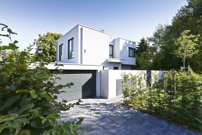 Flachdachhaus individuell von jetzthaus house ideas for Flachdachhaus grundriss