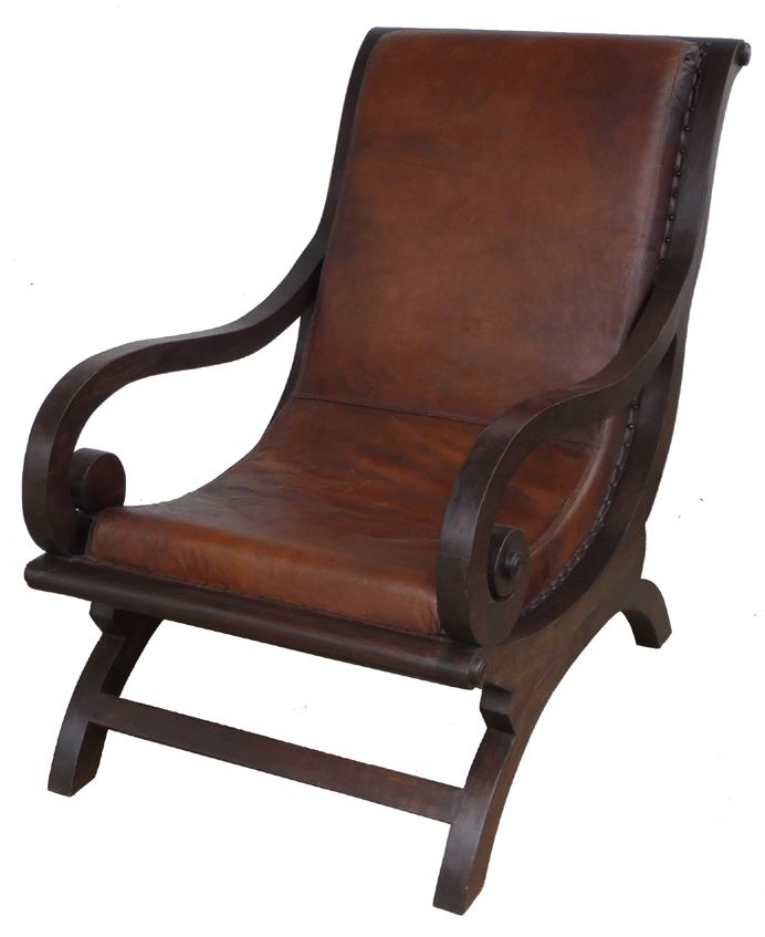 Wood and Leather Arm Chair - African  Interiors Online - Furniture Online  & Decorating Accessories