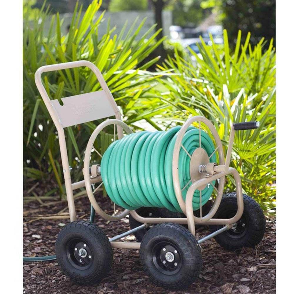Liberty Garden 870 Industrial 4 Wheel 300 Foot Steel Frame
