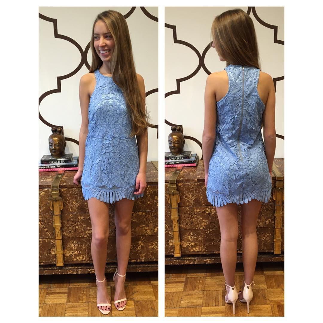 9195430b71d LOVERS + FRIENDS CASPIAN DRESS CRYSTAL BLUE www.splashtribe.com