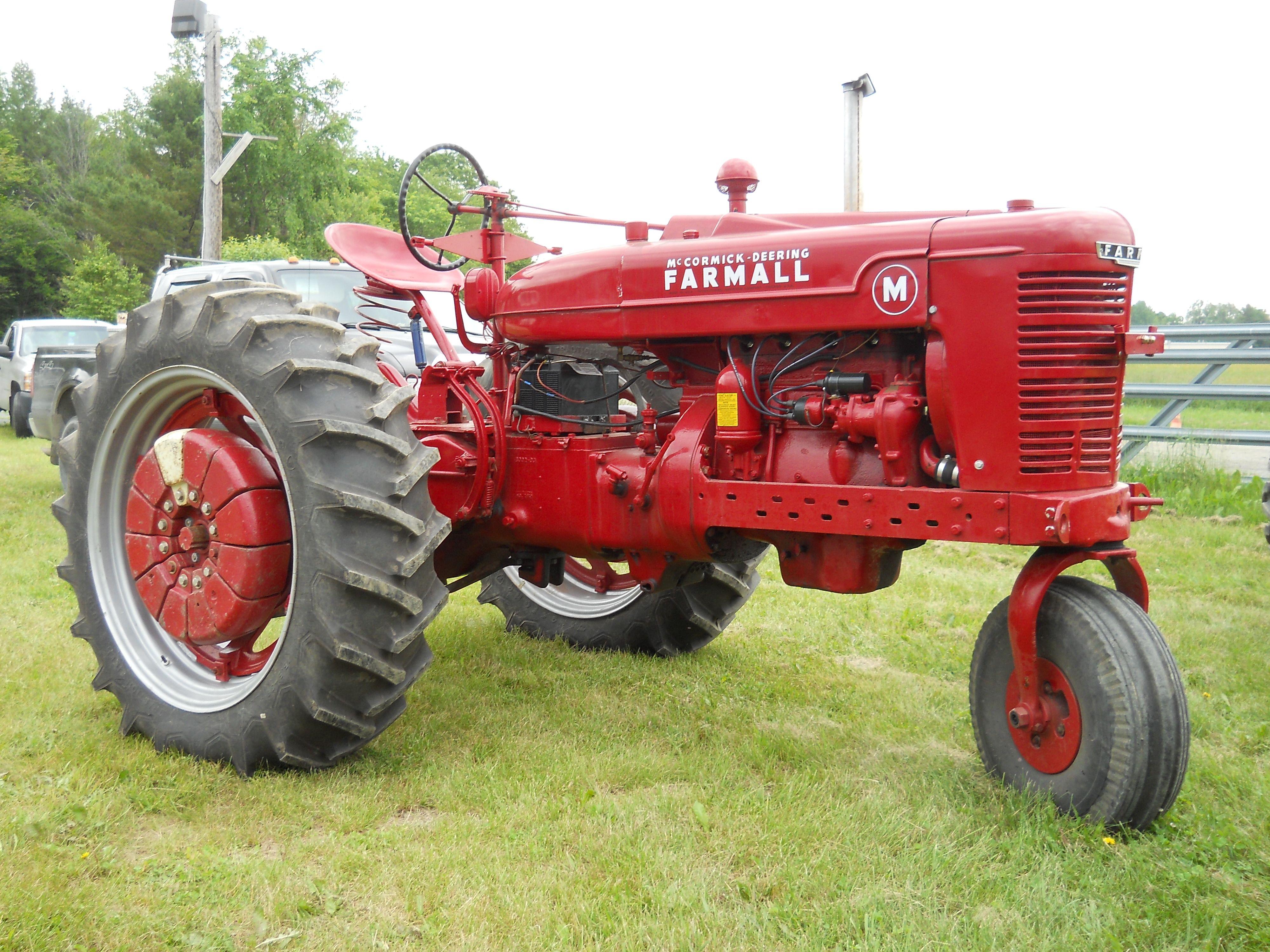 Oliver 88 Turbo Kit : Mccormick deering farmall m tractor https youtube