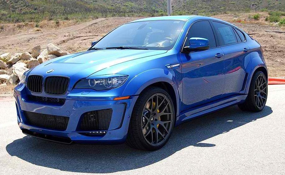 Lumma Bmw X6 Body Kit Widebody In Monte Carlo Blue Bmw