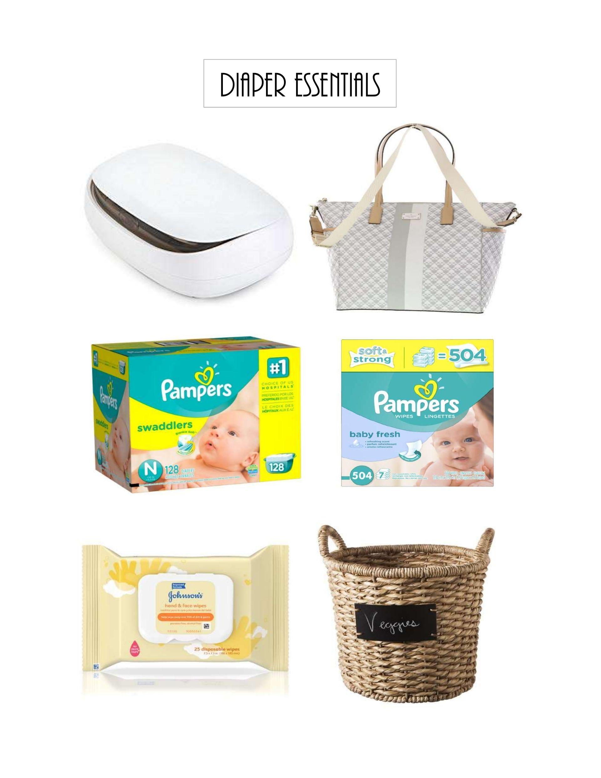 newborn baby diaper essentials