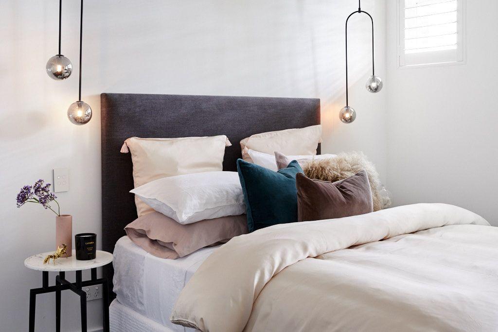 Guest bedroom inspo from The Block 2018 DESIGN Bedrooms Ideas