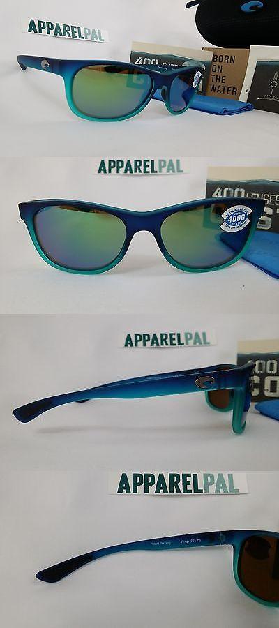 e6ee58d182 Sunglasses 151543  New Costa Del Mar Prop Polarized Sunglasses 400G Glass  Matte Caribbean Green -