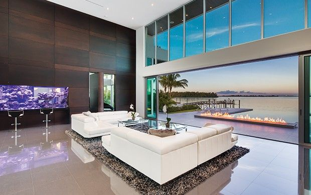 This Contemporary Living Room Was Featured In The May 2016 Suncoast