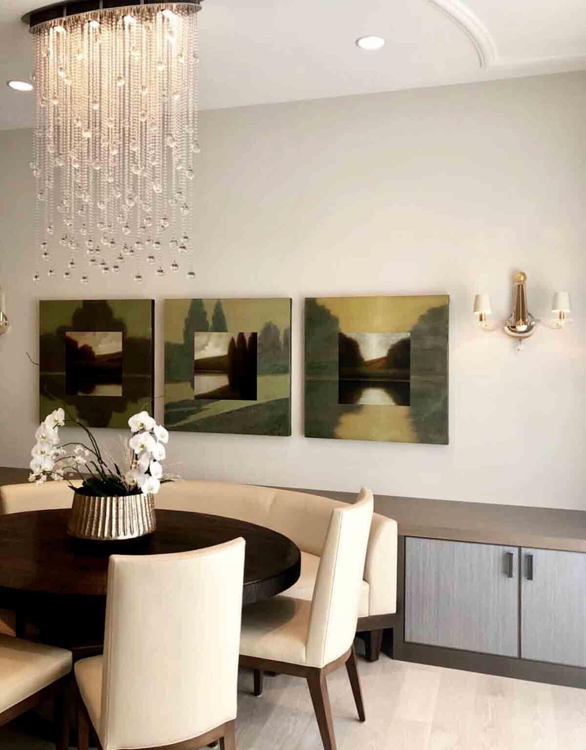 Modern Designer Circle Ring Up Down Led Pendant Light Fixture