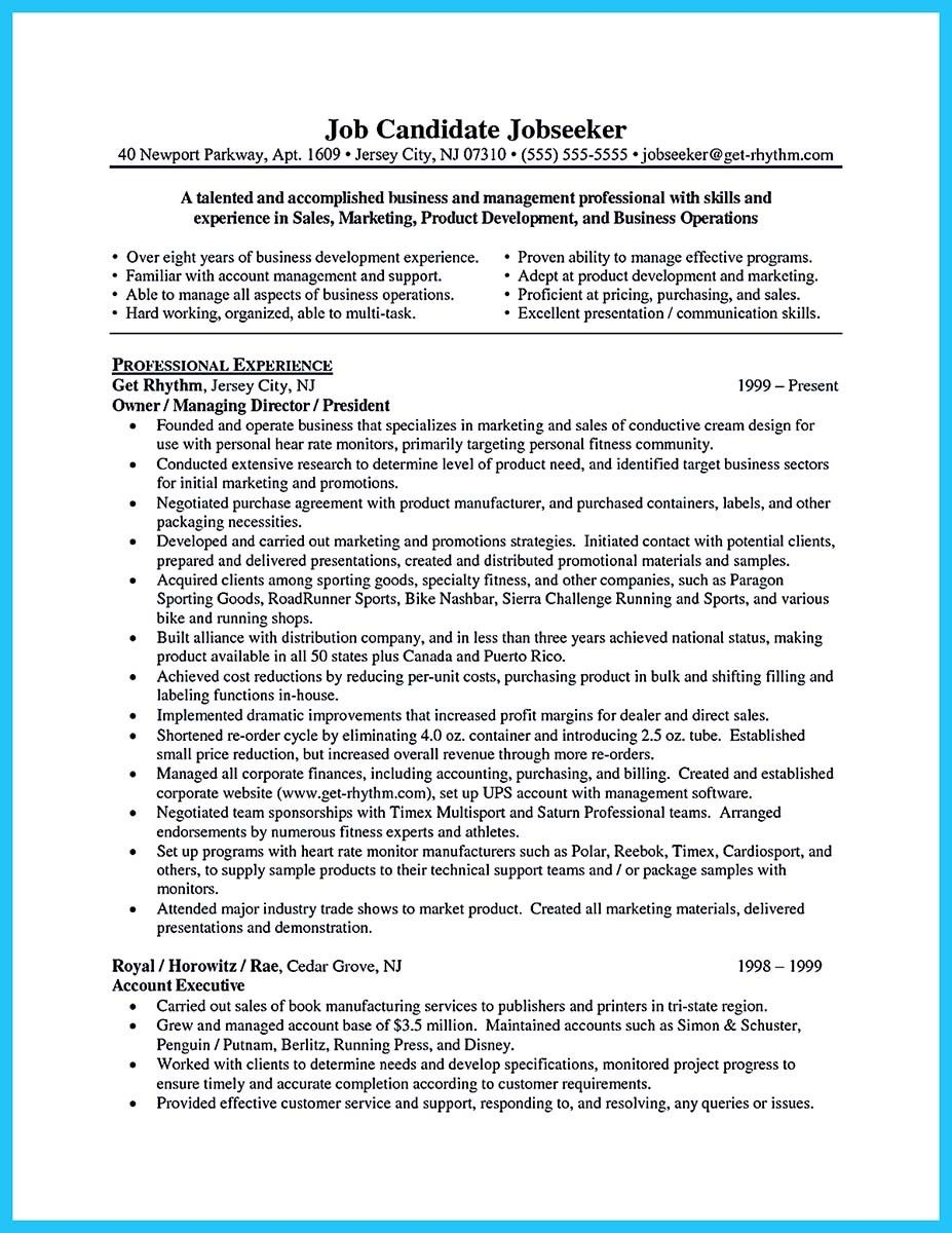 Sales Job Resume Nice Best Words For The Best Business Development Resume And Best