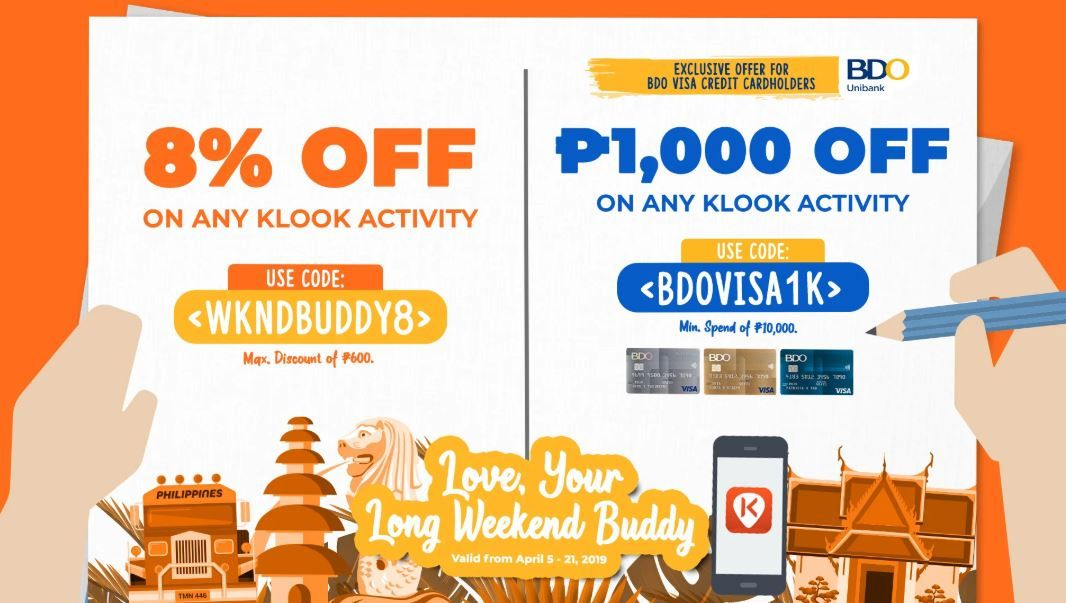 Hurry Book Now Any Klook Activity Using This Klook Promo Code