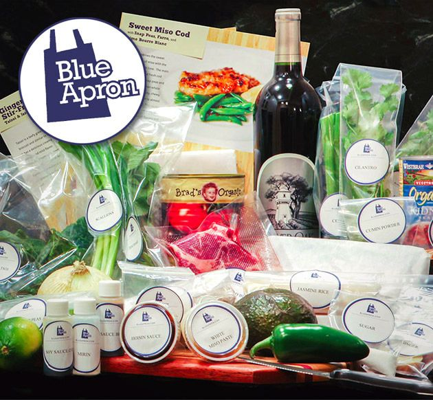 Blue apron meal delivery food cravings pinterest