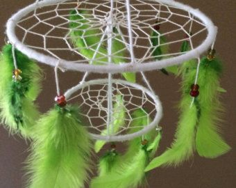 dreamcatcher mobile by littlebosleep on Etsy