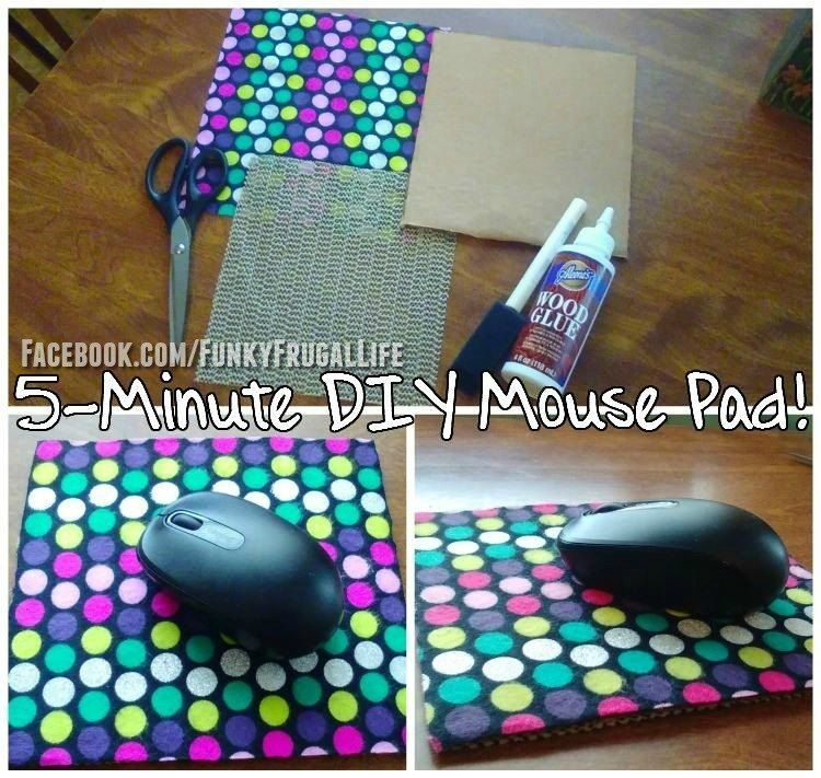 Make Your Own Mousepad Diy Mouse Pad Mouse Pad Diy Office Decor