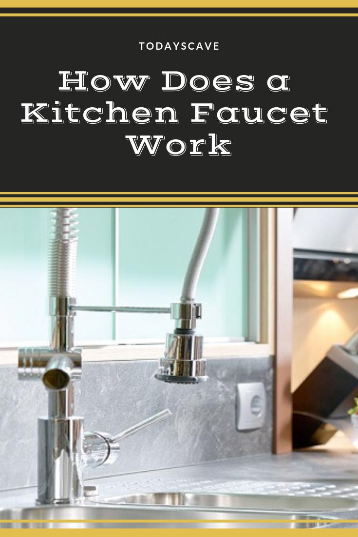 How Does A Kitchen Faucet Work Kitchen Faucet Faucet Touchless Kitchen Faucet