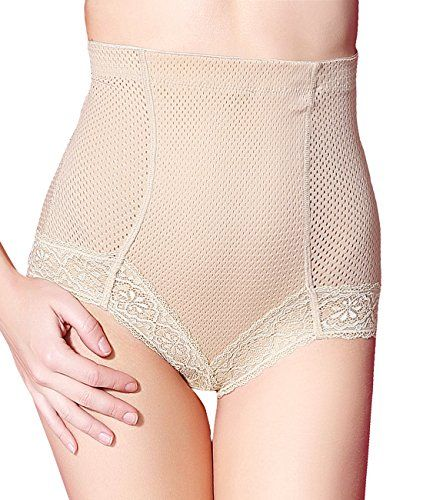 Seamless Hi Waist Brief Shapewear Panty Firm Control Tummy Control Slimming