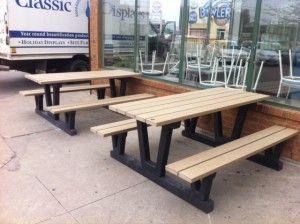 Fabulous Picnic Bench Design Metal Furniture Furniture Steel Pabps2019 Chair Design Images Pabps2019Com
