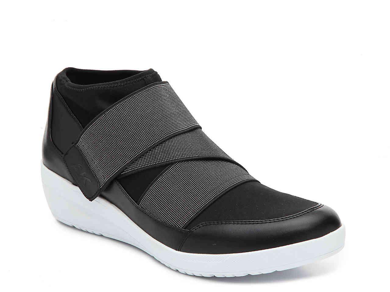 Anne Klein Sport Youcan Wedge Sneaker Sneakers, Black