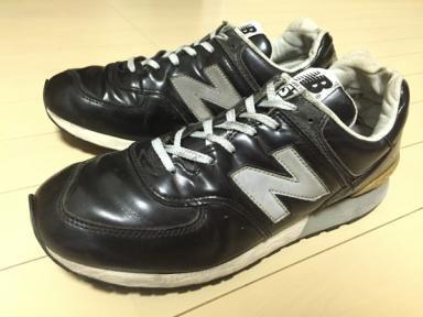 15de4131ebdd6 NewBalance 576 USA製 黒 ガラスレザー 限定モデル / ニューバランス NB アメリカ製 996 1400