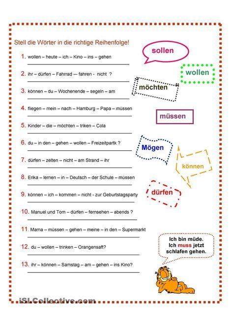 Modalverben | Deutsch