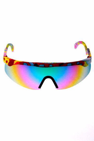 2dcc3e83e9 Retro 90s Neon Sunglasses
