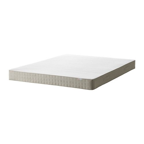 HAFSLO Colchão de molas - 140x200 cm, firme/bege  - IKEA