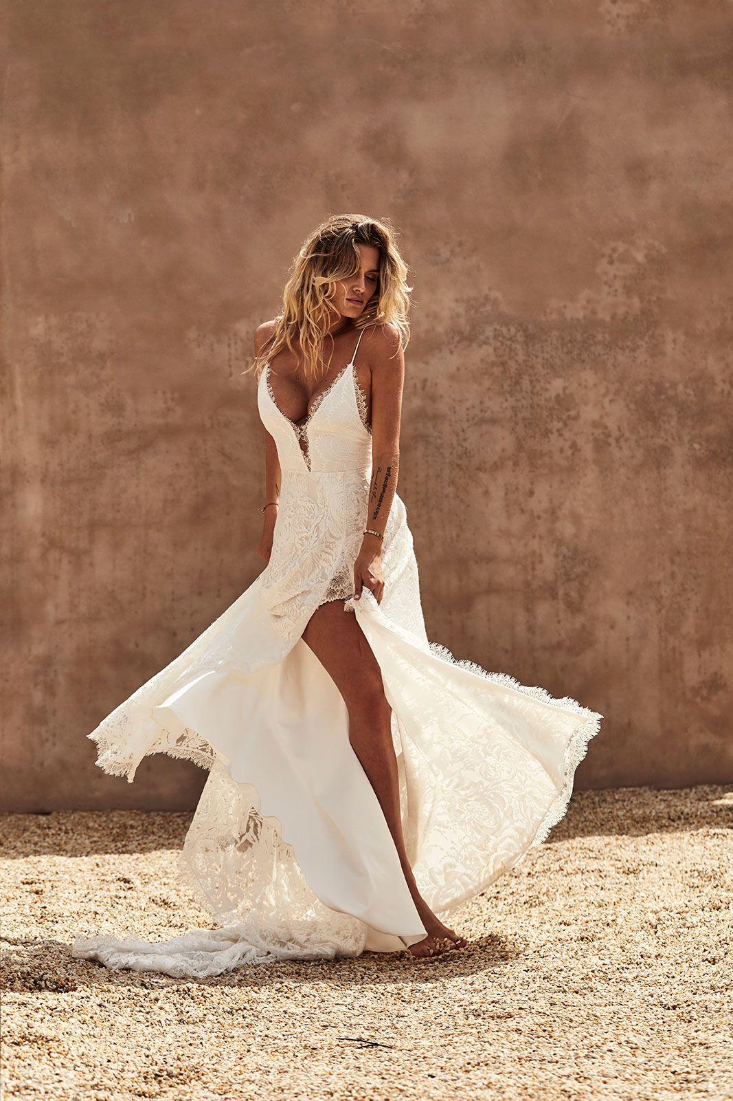Darling Gown Lace Wedding Dress Grace Loves Lace Australian Wedding Dresses Short Wedding Dress Grace Loves Lace [ 1601 x 1067 Pixel ]