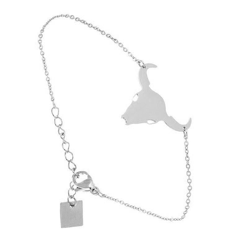 aa578c8ebbed6c Bracelet Taureau Zag bijoux (argent)   liste d envies   Pinterest ...