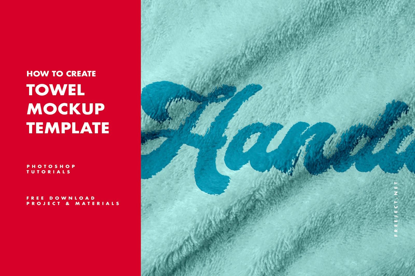 How To Create Towel Mockup In Photoshop Photoshop Tutorials Photoshop Tutorial Photoshop Texture Download