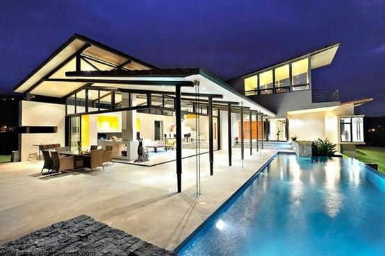 Sustainable Modern Home in Costa Rica Architecture, Eco