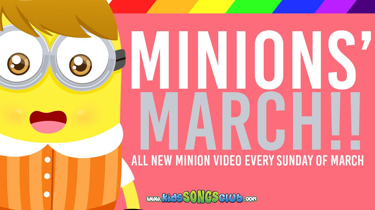 We've got some big news! The MINIONS are back with awesome new songs! https://youtu.be/4GKujKx_J1E  Don't forget to LIKE and SHARE the video! Subscribe to our Youtube Channel too to stay updated on fun, cute, and catchy videos! :)  #nurseryrhyme #Music #kidssongs #happymusic #happytunes #children #childrensongs #rhymesforkids #funmusic #fun #kidslearn