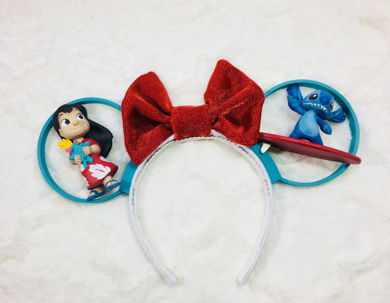 Lilo and Stitch Ears, Stitch Ears, Lilo Ears, Aulani Ears #liloandstitch