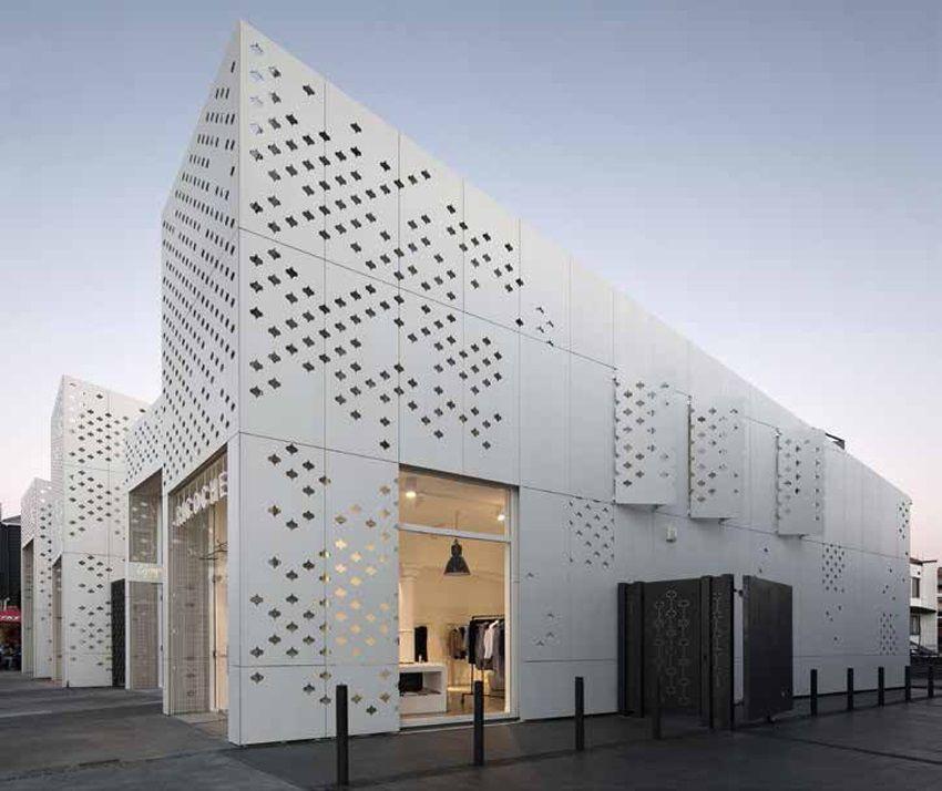 Fassade Architektur die form mood building fassaden wohnungsbau und