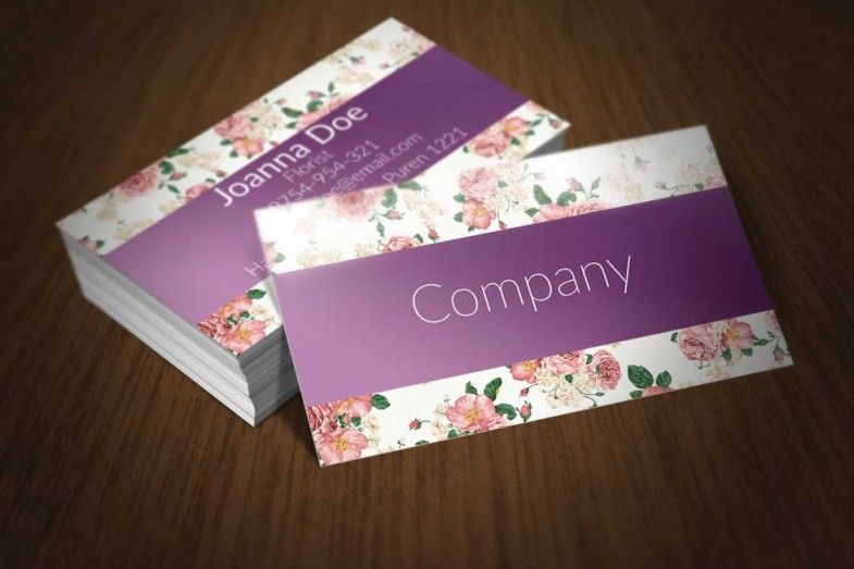 Elegant floral business card template available for free download elegant floral business card template available for free download as adobe photoshop psd reheart