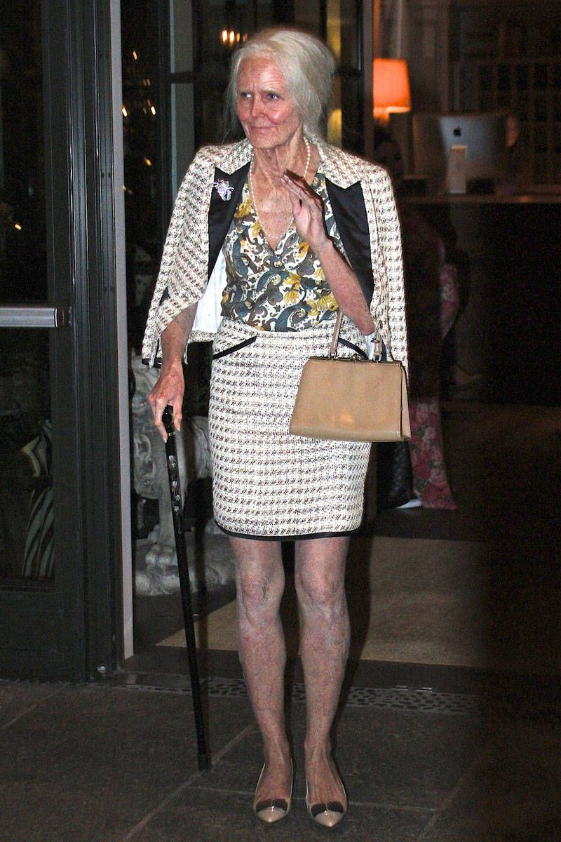 Klum once again wows dressed as an 95-year-old version of herself at her 14th annual Halloween party in New York. - ELLE.com  sc 1 st  Pinterest & The Best Celebrity Halloween Costumes Through the Years