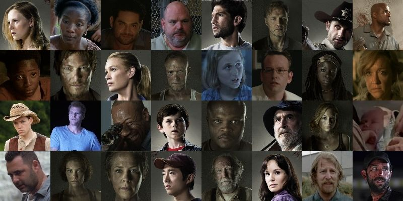 The Walking Dead All Characters Can You Name The Characters From