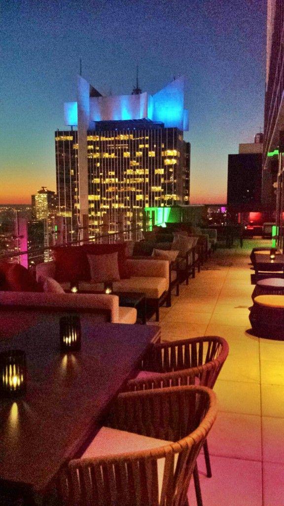 BAR54 Hyatt Times Square New York #rooftop #lounge #newyork