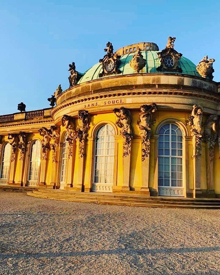 Schloss Sanssouci Sanssouci Palace Potsdam Germany In 2020 Travel Sightseeing Germany Travel
