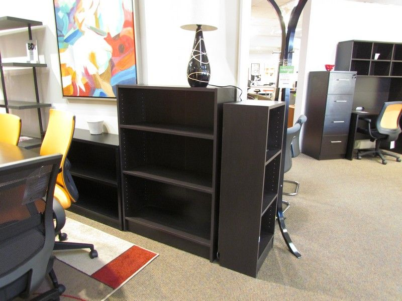 Coffee Section bookcase. Was $129 Now $99