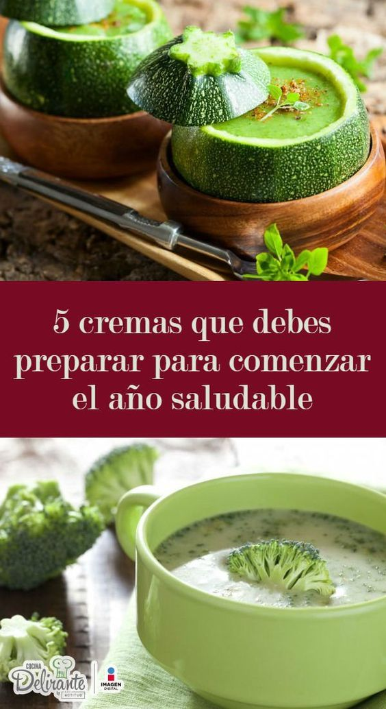 Receta verduras light de Crema