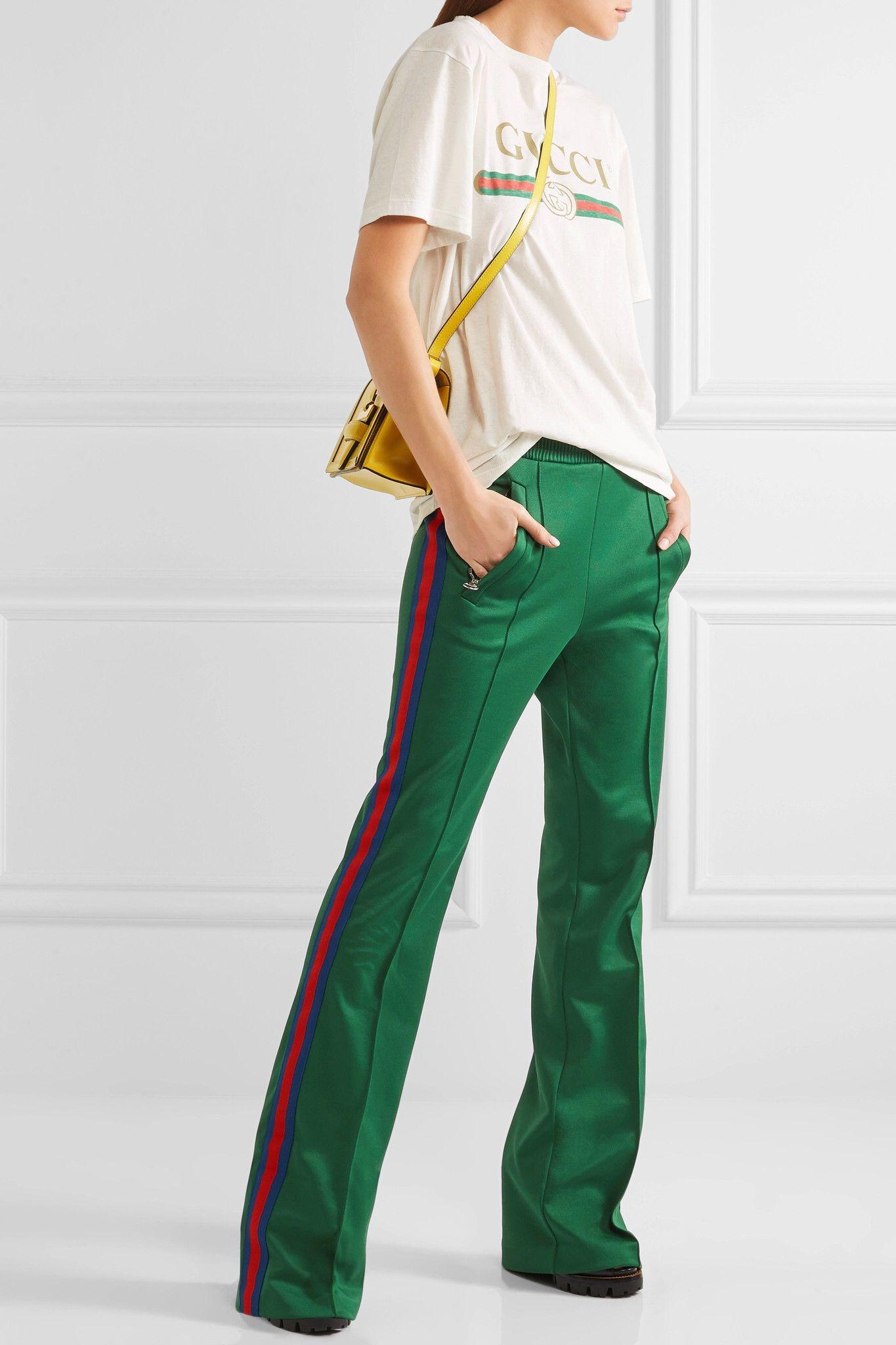 8517d37901f1 Shown here with  Gucci Pants, Gucci T-shirt, Loewe Shoulder bag, Prada  Sandals, Isabel Marant Earrings, Charlotte Chesnais Rings.