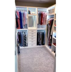 Build Blueprint for a Walk-in Master Closet