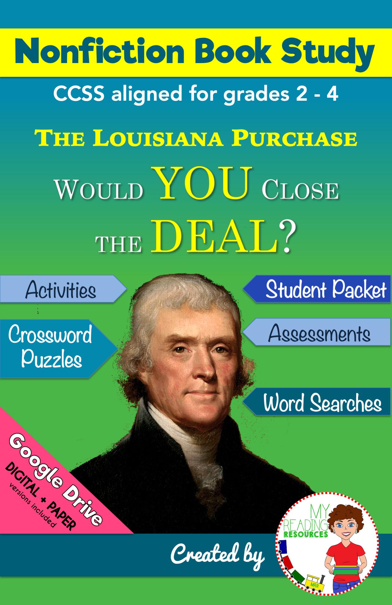 Book Study The Louisiana Purchase
