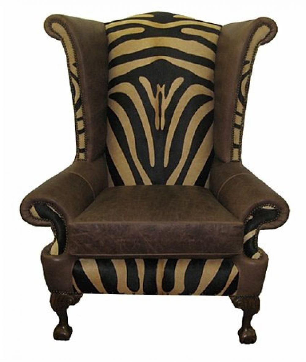 Black And White Wingback Chair Stuhlede Com