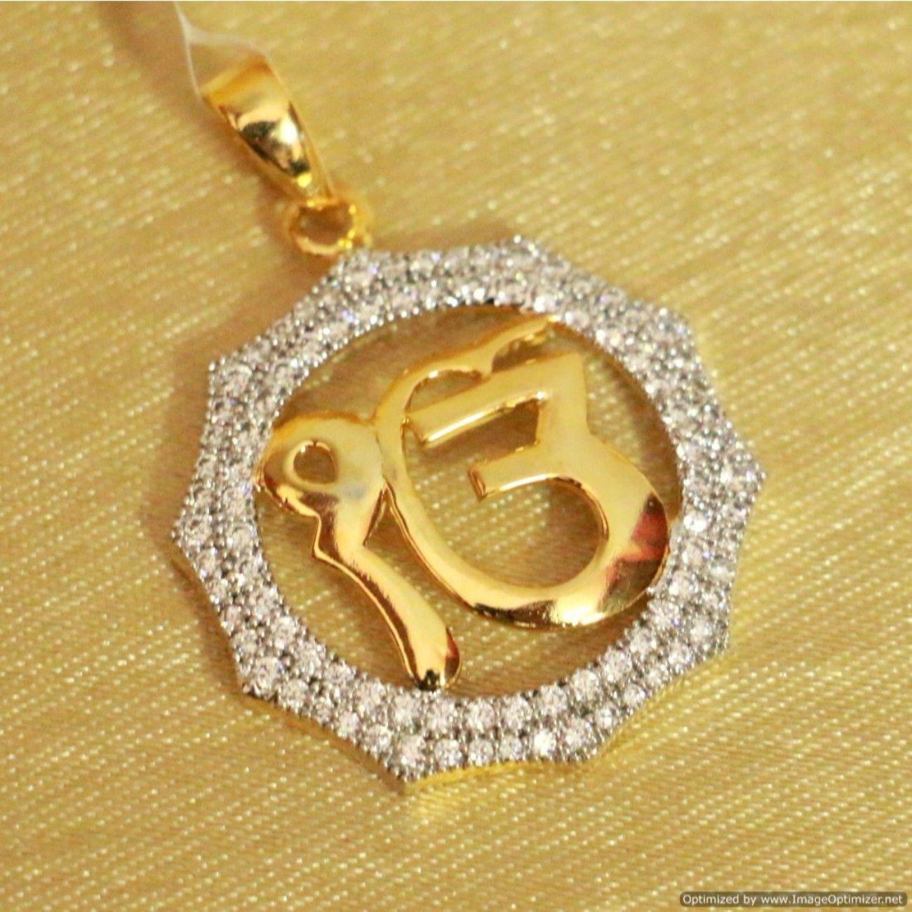 Diamond look ek onkar pendant sacred prayers pinterest pendants diamond look ek onkar pendant aloadofball Choice Image