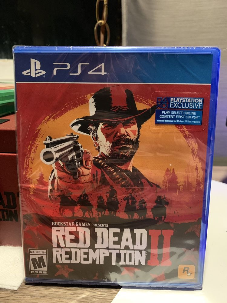 Red Dead Redemption 2 Ps4 Physical Copy New In Shrink Wrap Free Shipping Reddeadredemption Gaming Xboxone Red Dead Redemption Ps4 Redemption
