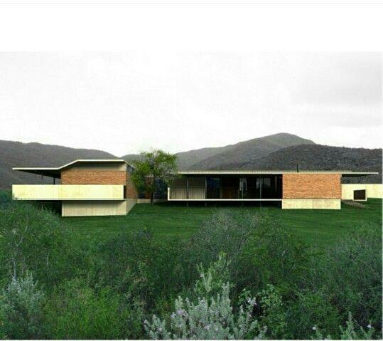 La arquitecta menciono que como con un movimiento tan delicado puede este adaptarse y dialogar con el contexto (el techo adaptandose a la forma montañosa)