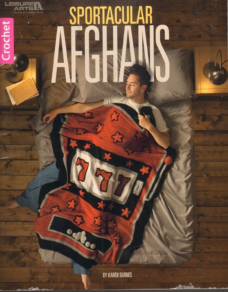 Sportacular Afghans for Crochet by Leisure Arts Poker