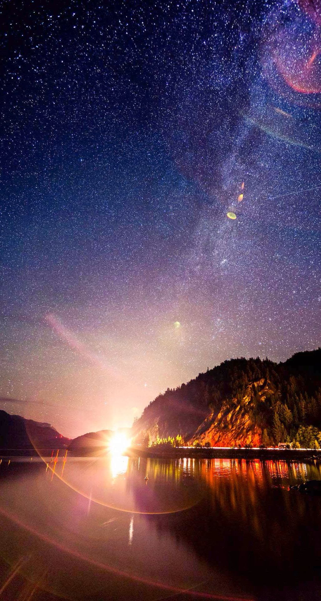 Milky Way. Calm your mood with these 10 Peaceful Evening