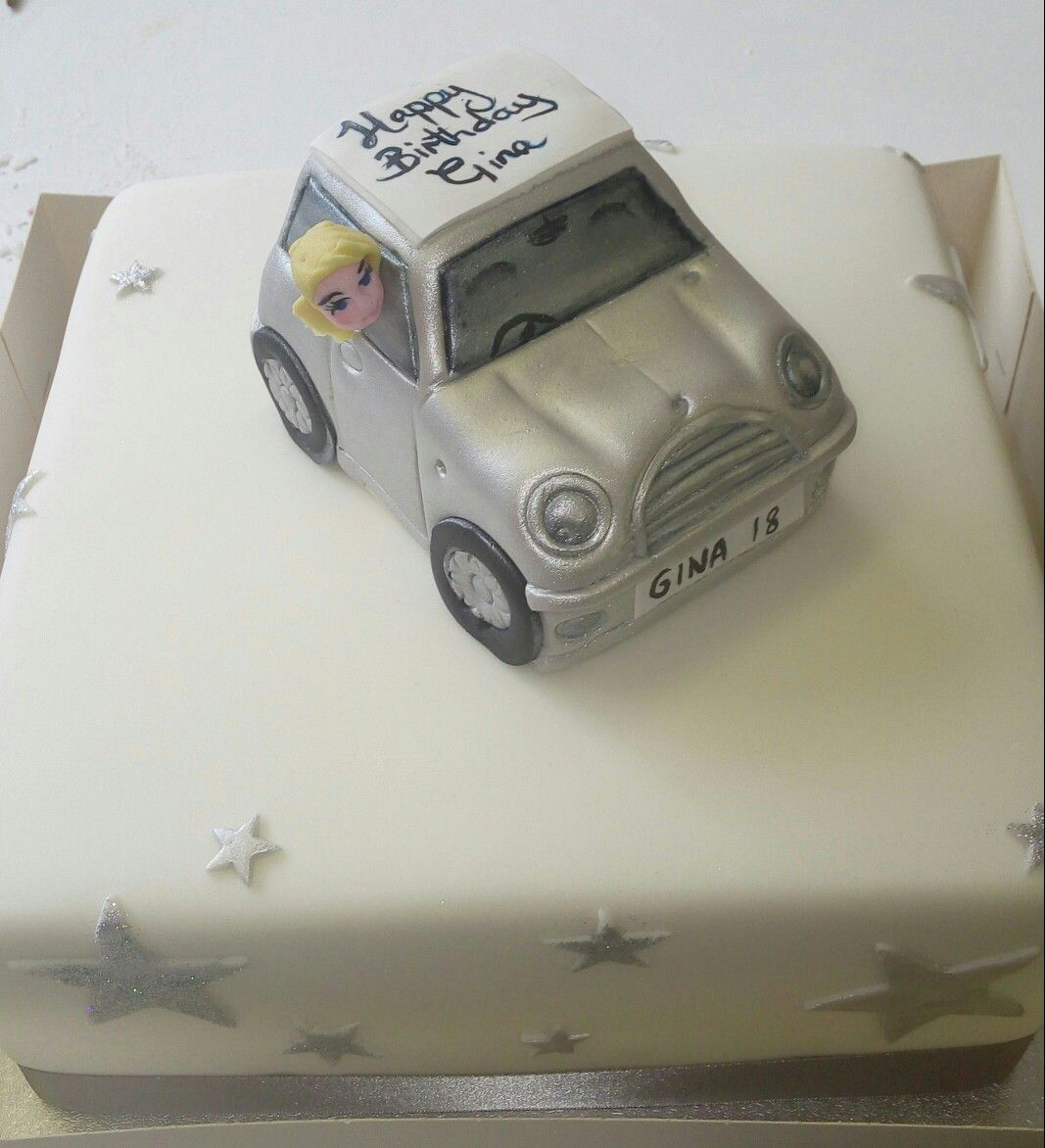 mini car wedding cake topper mini cake topper car cakes cakes 17391